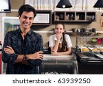 small business portrait  owner... | Shutterstock . vector #63939250