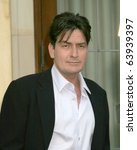 Small photo of LOS ANGELES - FEB 27: Charlie Sheen arrives at the Two and a Half Men - Panel at The Academy of Television Arts and Sciences on February 27, 2008 in North Hollywood, CA .