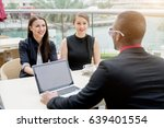 young business people having an ... | Shutterstock . vector #639401554