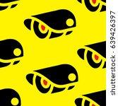 cctv seamless pattern | Shutterstock .eps vector #639426397