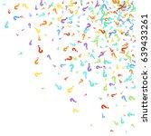 scatter top right corner made... | Shutterstock .eps vector #639433261