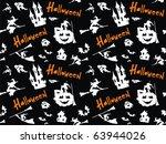 halloween seamless pattern....   Shutterstock .eps vector #63944026