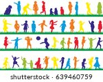 vector  multicolored... | Shutterstock .eps vector #639460759