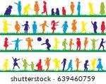 vector  multicolored... | Shutterstock .eps vector #639460759