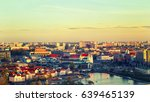 panoramic view of the... | Shutterstock . vector #639465139