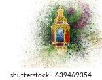 islamic muslim holiday ramadan... | Shutterstock . vector #639469354