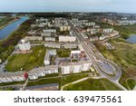 aerial view of liepaja city and ...   Shutterstock . vector #639475561