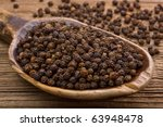 Black Pepper And Very Old...
