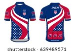 cycle jersey   Shutterstock .eps vector #639489571