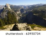 View From Glacier Point In...