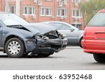 Two Car Crash Accident On A...