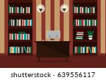 illustration of a comfortable... | Shutterstock .eps vector #639556117