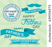 happy fathers day. father's day ... | Shutterstock .eps vector #639556975