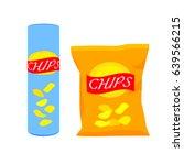 packaging packaging of potato...   Shutterstock .eps vector #639566215