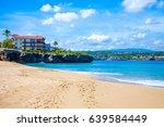 beautiful view of sosua beach | Shutterstock . vector #639584449