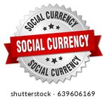 social currency round isolated... | Shutterstock .eps vector #639606169