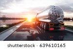 gasoline tanker  oil trailer ... | Shutterstock . vector #639610165