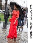 paris march 4  2017.street...   Shutterstock . vector #639627595