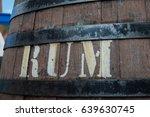 the rum cask in portuguese rum...   Shutterstock . vector #639630745