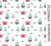 the sea and ship. marine set | Shutterstock .eps vector #639632731