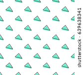 triangle pattern. abstract... | Shutterstock .eps vector #639638341