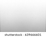 abstract halftone dotted... | Shutterstock .eps vector #639666601