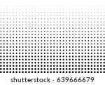 abstract halftone dotted... | Shutterstock .eps vector #639666679