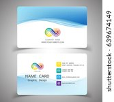 business card design set....   Shutterstock .eps vector #639674149