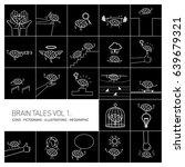 brain tales volume 1  vector...   Shutterstock .eps vector #639679321