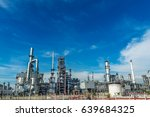 oil and gas industry refinery... | Shutterstock . vector #639684325