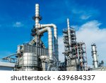 oil and gas industry refinery... | Shutterstock . vector #639684337