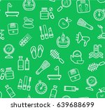 beauty and health  green... | Shutterstock .eps vector #639688699