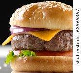 Cheeseburger Macro With Black...
