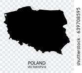 transparent   vector black map... | Shutterstock .eps vector #639708595