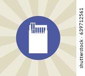cigarette icon. sign design....