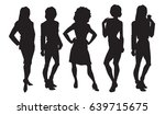 vector illustration of woman's... | Shutterstock .eps vector #639715675