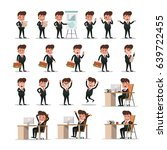 business people concept design | Shutterstock .eps vector #639722455
