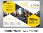 business brochure. flyer design.... | Shutterstock .eps vector #639740401