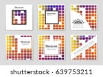 abstract vector layout... | Shutterstock .eps vector #639753211