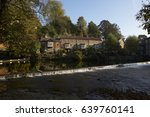 Knaresborough River Nidd Weir ...