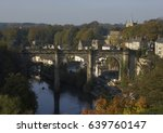Knaresborough Town River Nidd ...