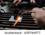 acetylene welding | Shutterstock . vector #639764977