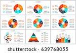 business data visualization.... | Shutterstock .eps vector #639768055