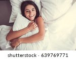 young beautiful girl smiling... | Shutterstock . vector #639769771