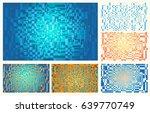 pseudo scientific or technical... | Shutterstock .eps vector #639770749