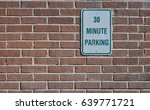 Small photo of 30 Minute Parking