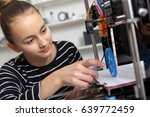education  technology  kid with ... | Shutterstock . vector #639772459