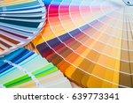 painter and decorator work... | Shutterstock . vector #639773341