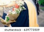 young girl graduate... | Shutterstock . vector #639773509