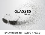 glasses of the particles. the... | Shutterstock .eps vector #639777619